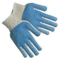 MCR Safety 9660SMB Memphis Glove PVC Dot String Knit Gloves