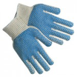 MCR Safety 9660SMB Memphis Glove PVC Dot String Knit Gloves