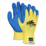 MCR Safety 9687L Memphis Glove Flex Tuff Latex Dipped Gloves