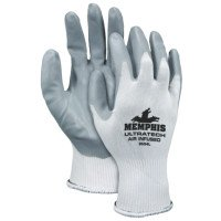 MCR Safety 9694L Memphis Glove UltraTech Air Infused Nitrile Coated Gloves