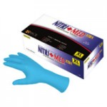 MCR Safety 6062M Memphis Glove Nitrile Disposable Gloves