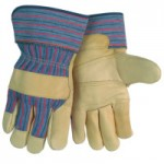 MCR Safety 1931L Memphis Glove Grain Leather Palm Gloves