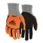 MCR Safety UT1952M Memphis Gloves UT1952 UltraTech A4/Impact Level 1 Mechanics Knit Gloves