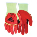 MCR Safety UT1953L Memphis Gloves UT1953 UltraTech A4/Impact Level 1 Mechanics Knit Gloves