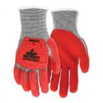 MCR Safety UT1954L Memphis Gloves UT1954 UltraTech A5/Impact Level 1 Mechanics Knit Gloves