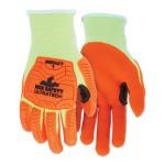 MCR Safety UT1955XL Memphis Gloves UT1955 UltraTech A5/Impact Level 1 Mechanics Knit Gloves