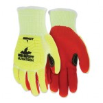 MCR Safety UT1956L Memphis Gloves UT1956 UltraTech A5/Impact Level 1 Mechanics Knit Gloves