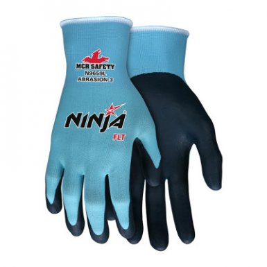 MCR Safety N9659S Ninja FLT Coated Palm and Fingers
