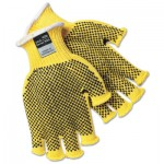 MCR Safety PVC Dotted Kevlar String Knit Gloves