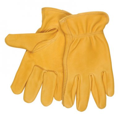 MCR Safety 3501S Regular Deer Grain Leather Driver Gloves