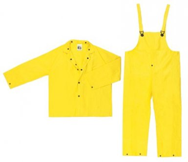 MCR Safety 3003X4 River City Wizard 3-Piece Rain Suits