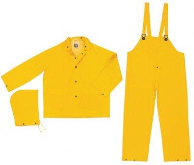 MCR Safety FR2003M River City Classic 3-Piece Flame Resistant Rain Suits