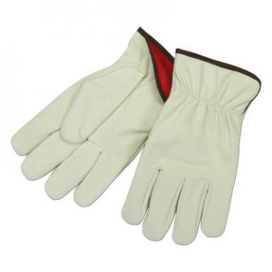 MCR Safety 3750L Synthetic Leather Split Cow Texture Driver Gloves