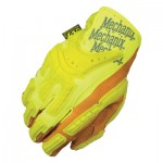 Mechanix Wear CG40-91-010 Hi-Viz CG Heavy Duty Leather Work Gloves