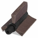 Merit Abrasives 8834154147 Aluminum Oxide B-8 Series Bore Polishers