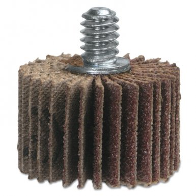 "Merit Abrasives 8834133008 High Performance Mini Flap Wheels with 1/4""-20 Thread"