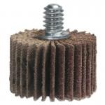 "Merit Abrasives 8834134022 High Performance Mini Flap Wheels with 1/4""-20 Thread"