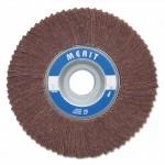Merit Abrasives 8834126006 Interleaf Flap Wheels with Arbor Hole Mount