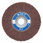 Merit Abrasives 8834126030 Interleaf Flap Wheels with Arbor Hole Mount
