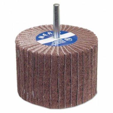 Merit Abrasives 8834138130 Interleaf Flap Wheels with Mounted Steel Shank