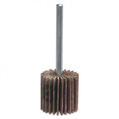 Merit Abrasives 8834137561 Merit Micro-Mini Flap Wheels with Mounted Steel Shanks