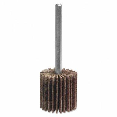 Merit Abrasives 8834149838 Metal Mini Flap Wheels with Mounted Steel Shanks