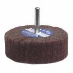 Merit Abrasives 8834131921 Non-Woven Flap Wheels with Mounted Steel Shank