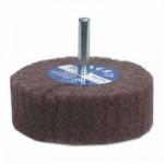 Merit Abrasives 66261189992 Non-Woven Flap Wheels with Mounted Steel Shank