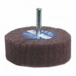 Merit Abrasives 69957399202 Non-Woven Flap Wheels with Mounted Steel Shank