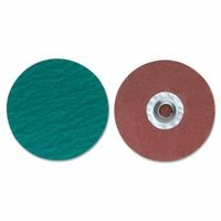 Merit Abrasives 8834167055 ZIRC Plus R801 PowerLock Cloth Discs-Type II