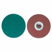 Merit Abrasives 8834167072 ZIRC Plus R801 PowerLock Cloth Discs-Type II