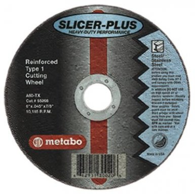 METABO 655352000 Slicer Plus High Performance Cutting Wheels