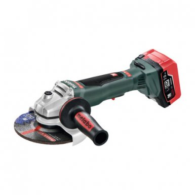 METABO 613076640FB WP 18 LTX 150 Cordless Angle Grinder with Paddle Switch