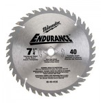 Milwaukee Electric Tools 48-40-4520 Endurance Carbide Circular Saw Blades