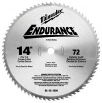 Milwaukee Electric Tools 48-40-4505 Endurance Carbide Circular Saw Blades