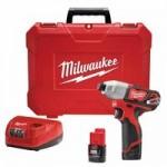 Milwaukee Electric Tools 2462-22 M12 Impact Driver Kits