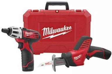 Milwaukee Electric Tools 2490-22 M12 Cordless Combo Kits