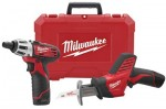 Milwaukee Electric Tools 2490-22 M12 Cordless Combo Kits