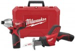 Milwaukee Electric Tools 2491-22 M12 Cordless Combo Kits