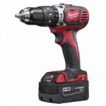 Milwaukee Electric Tools 2607-22 M18 Cordless Compact Hammer Drill/Driver Kit