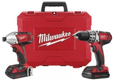 Milwaukee Electric Tools 2691-22 M18 Cordless Combo Kits