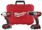 Milwaukee Electric Tools 2691-22 M18 Cordless Combo Kits