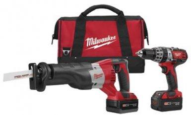 Milwaukee Electric Tools 2694-22 M18 Cordless Combo Kits