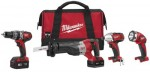 Milwaukee Electric Tools 2696-24 M18 Cordless Combo Kits