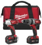 Milwaukee Electric Tools 2697-22 M18 Cordless Combo Kits
