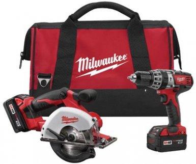 Milwaukee Electric Tools 2698-22 M18 Cordless Combo Kits