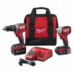 Milwaukee Electric Tools 2799-22CX M18 Compact Brushless Combo Kits