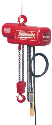 Milwaukee Electric Tools 9573 Professional Electric Chain Hoists