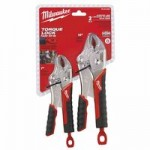 Milwaukee Electric Tools 48-22-3402 Torque Lock Curved Jaw Locking Pliers Sets