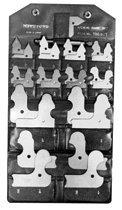 Mitutoyo 186-105 Series 186 Radius Gage Sets